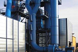 2008: Neubau einer Zerkleinerungsanlage für Altmetalle
