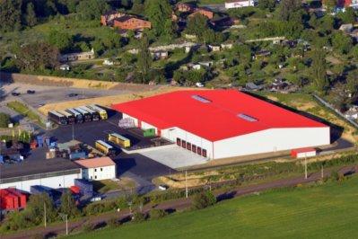 2016: Neubau Logistikgebäude