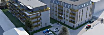 2021: Neubau von Wohnhäusern mit Gewerbe und Praxen in Eisleben