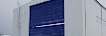 2012: Neubau einer Offshore- Montagehalle inkl. Krananlage